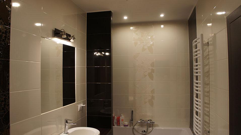 Projekt Wnętrza łazienki Lokalu W Brzegu Archwiz Studio